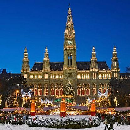 1denní adventní zájezd do Vídně - 8 termínů