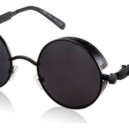 Kulaté retro brýle ve 4 barvách