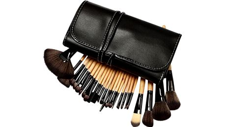 24 dílná sada štětců na make-up