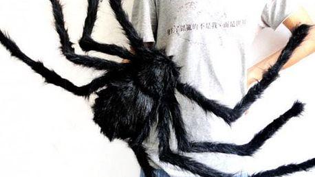 Obří plyšový pavouk Halloween