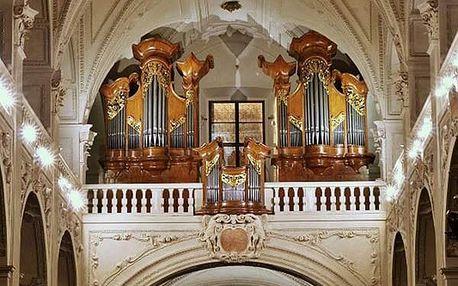 Koncert klasické hudby v Praze