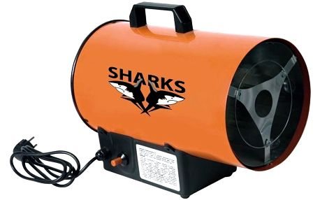 Plynová horkovzdušná turbína Sharks 10S Sleva 500Kč