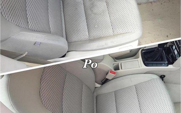 Kompletní čištění interiéru automobilu vč. tepování3
