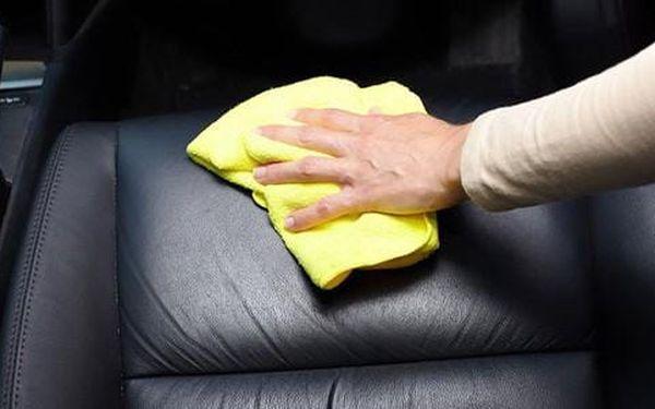 Tepování interiéru auta a jako bonus ošetření pneumatik2