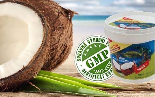 Kokosový tuk 1000ml ZDRAVÝ POMOCNÍK do Vaší kuchyně