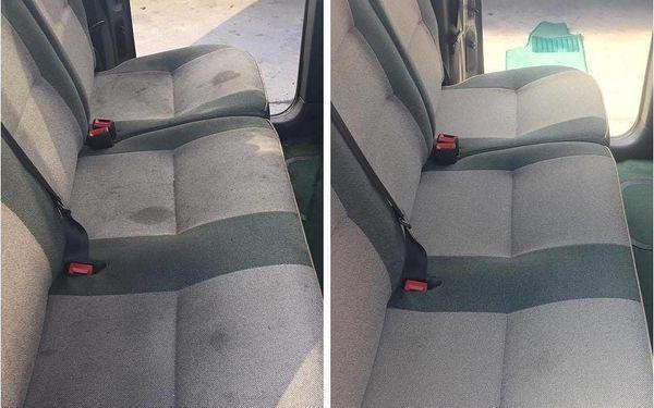 Kompletní čištění interiéru automobilu vč. tepování5