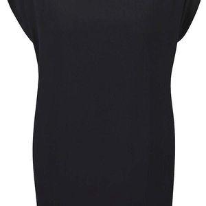 Černé šaty s korálky ve výstřihu a tílkem Alchymi Nemesia