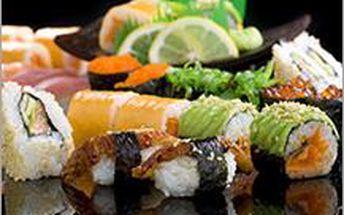 Oblíbené SUSHI ve Zlíně! Užijte si podzimní procházky i s exotickým občerstvením s luxusní slevou 54%!