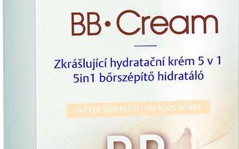 Nivea BB krém zkrášlující hydratační krém 5v1 světlý tón pleti 50 ml