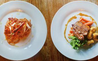 Italské mámení: 4chodové degustační menu pro 2
