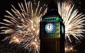 Silvestrovský zájezd do Londýna s ohňostrojem, ubytováním a snídaní pro 1 osobu