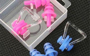 Ochrana uší a nosu při plavání - skladovka - poštovné zdarma