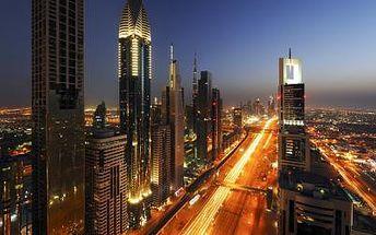 Poznávací Zájezd Zážitky Z Dubaje–akce Senior 50, Spojené arabské emiráty, Spojené arabské emiráty, 7 dní, Letecky, Snídaně, Alespoň 4 ★★★★, sleva 59 %