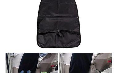 Ochrana předních sedadel v černé barvě