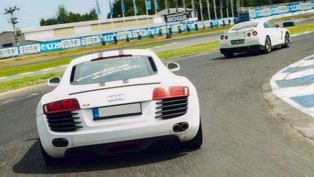 Úžasný závodní den za volantem supersportů