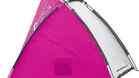 Plážový paravan Spokey CLOUD, růžový + okamžitá sleva 60 Kč! + Doprava zdarma