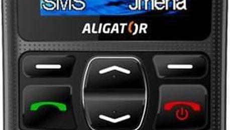 Mobilní telefon Aligator A420 (A420B) černý