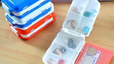 Cestovní box na vitamíny nebo i šperky