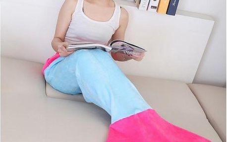 Plyšová deka pro dospělé Mořská panna