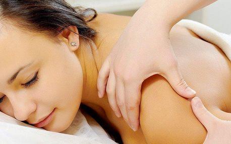 60minutová klasická relaxační masáž v centru Brna