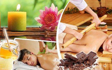 Masáž v Praze, klasická, bambusová, čokoládová, medová či havajská.Nechte se hýčkat vSalonu Xidonie, užijte si relax, masáž dle svého výběru.