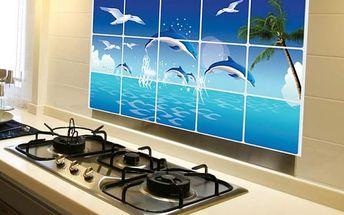 Nástěnná dekorativní nálepka s motivem oceánu