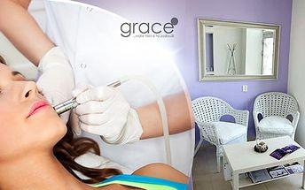Diamantová dermabraze nejvyšší kvality v délce 90 minut + masáž a aplikace séra