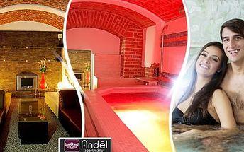 Privátní vířivka a sauna pro 2 osoby na 90 minut v luxusním wellness centru Praha, Anděl