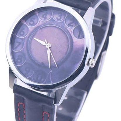 Náramkové hodinky s čísly na telefon - dodání do 2 dnů