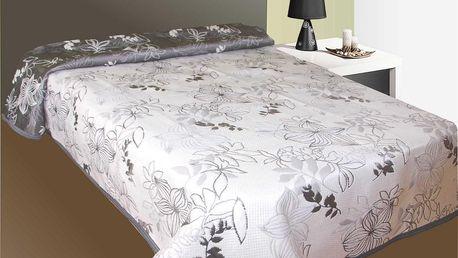 Forbyt Prehoz na posteľ Lisabon šedý