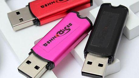 8GB USB flash disk ve 3 barvách - poštovné zdarma
