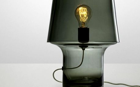Muuto stolní lampa Cosy in Grey 32 cm, šedá