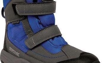 Zimní obuv Regatta RKF369 BLITZER Jnr Iron/OxfBlue