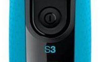 Holicí strojek Braun Series 3-3045s Wet&Dry černý/modrý