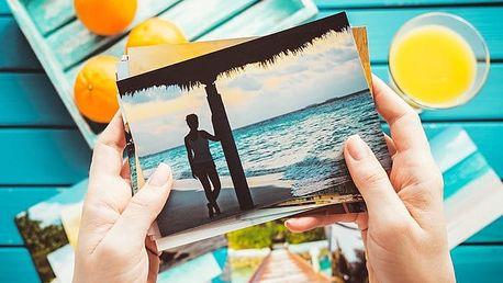 100 nebo 200 fotografií na kvalitním papíře značky Fuji v lesklém nebo matném provedení
