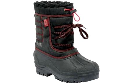 Zimní obuv Regatta RKF388 TREKFORCE II Jnr Black/Chilli