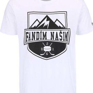 Bílé pánské triko ZOOT Originál Fandím našim
