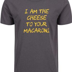 Šedé pánské triko ZOOT Originál Macaroni