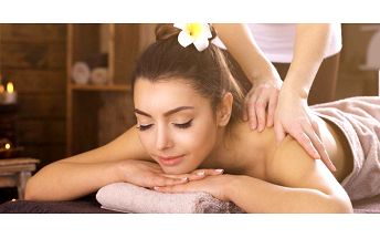 75minutová masáž se zábalem dle výběru