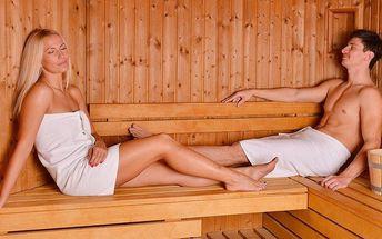 Privátní wellness pro 2 osoby