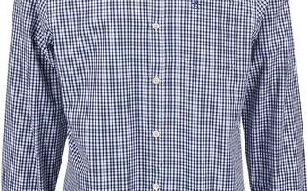 Tmavě modrá kostkovaná košile Original Penguin Belan