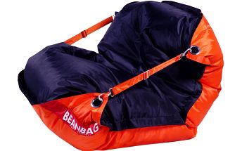 BeanBag Sedací pytel 189x140 duo orange - black