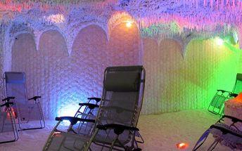 Relaxace v solné jeskyni s blahodárnými účinky