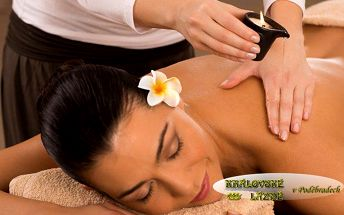 60minutová Candella masáž vonnou svíčkou v Poděbradech