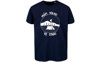 Tmavě modré pánské triko ZOOT Originál Stan