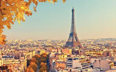 1Wall Vliesová fototapeta Podzimní Paříž 366x253 cm