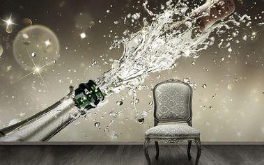 1Wall fototapeta Šampaňské 315x232 cm