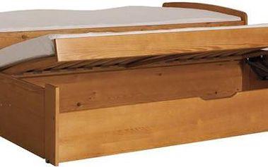 Dětská postel s přistýlkou Zachary - DOPRAVA ZDARMA!