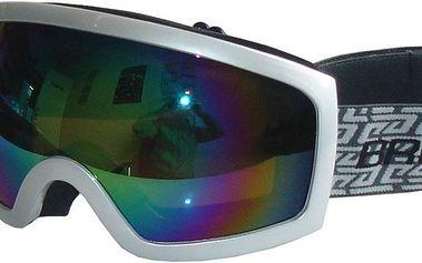 Lyžařské brýle BROTHER pro dospělé - stříbrné