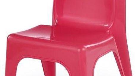 Dětská židle Dumbo červená